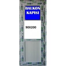 200 x 90 Hazır PVC Balkon Kapısı