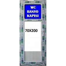 200 x 70 Hazır PVC Banyo ve WC Kapısı