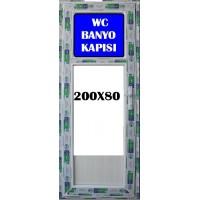 200 x 80 Hazır PVC Banyo ve WC Kapısı