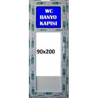 200 x 90 Hazır PVC Banyo ve WC Kapısı