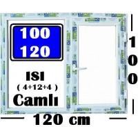 100 x 120 Hazır PVC Pencere
