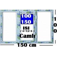 100 x 150 Hazır PVC Pencere